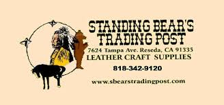 standing bears trading post leathercraft supplies support small business