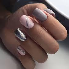 Black Nail Art Nails T Manikra Nehty And Gelov Nehty