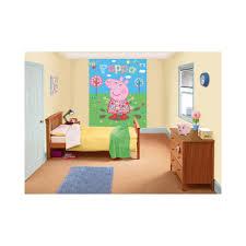 Peppa Pig Bedroom Accessories Dulux Bedroom In A Box Peppa Pig Wall Mural Paint Kit Painting