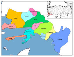 Image result for fethiye haritası