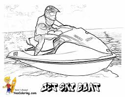 Small Picture Free Coloring Page Jet Ski Boat Runabout At YesColoring httpwww