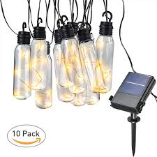 Amazon Solar Outdoor String Lights Yaoawe Outdoor String Lights Waterproofcertification Hanging Led Solar String Lights Bulb Ul