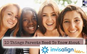 Orthodontists parents and teen