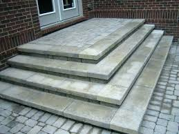 paver steps ing laying patio installing ideas