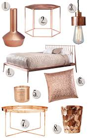 Small Picture 84 best Rose Gold Home Decor images on Pinterest Rose gold