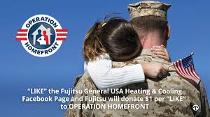 join fujitsu in supporting military families