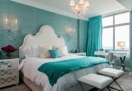 aqua paint color20 Charming Aqua Blue Bedrooms Color Designs WITH PICTURES