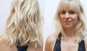 Coiffure Cheveux Mi Long Blond Femme Fashionsneakersclub