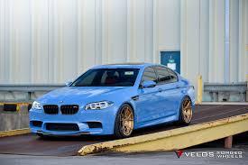Light Rims Bmw Bmw F10 M5 Sedan Velos Design Wheels Light Blue