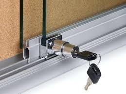 sliding glass door lock with key door lock screen sliding glass door lock with key basement