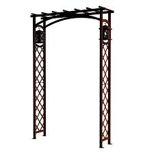 garden arbor lowes.  Lowes GARDEN CRAFT 433ft W X 655ft H Expresso Garden Arbor Intended Lowes D