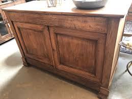 old wooden french oak wall cupboard