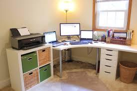 white corner office desk. Sensational Corner Desk Organization Ideas Applied To Your Home Decor: White Office E