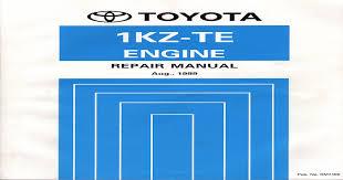 Toyota 1KZ-TE 1999 RM