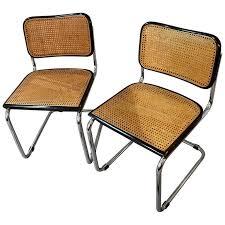 Vintage Set of Original Marcel Breuer Cesca Chairs for Knoll, circa 1970 1