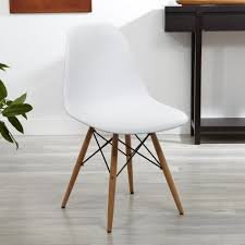 ksp eiffel chair with wood frame white