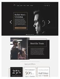 Hair Saloon Websites Hair Salon Website Designs Websites For Hairdressers