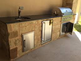 Granite For Outdoor Kitchen Outdoor Granite Countertops Houston Kings Granite And Marble