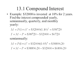 Semiannual Interest Math Suppose A Straight Bond Pays A Semiannual