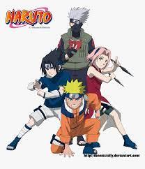 Naruto Team 7 Wallpaper Iphone, HD Png ...