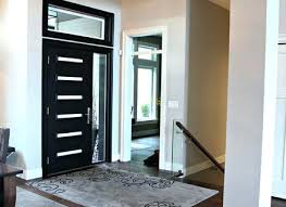 modern front doors. Black Contemporary Front Door Modern Painted With Beams And High . Doors