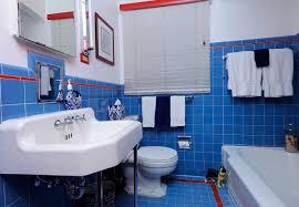 Blue Tiled Bathrooms Bathroom Floor Tile Angies List