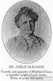 Adele Amelia Gleason MD (died 1930) - Canandaigua, NY