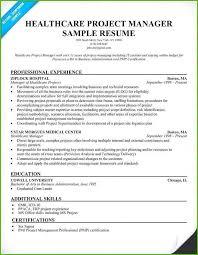 Certified Project Manager Sample Resume Podarki Co