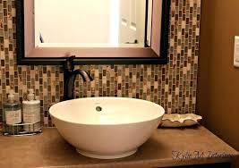 Backsplash Bathroom Ideas Mesmerizing Marble Backsplash Bathroom Bathroom Sink Tile Bathroom Ideas Marble