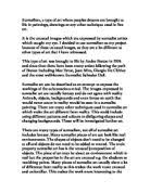 art essay thesis what elements of dada and surrealism suggest the surrealism artists and techniques