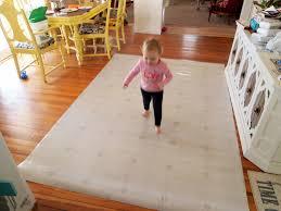 using carpet remnant as area rug designs