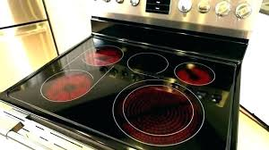 Glass Top Stoves Glass Stove Top Cookware Best Flat Top Stove