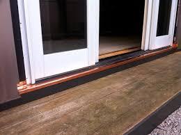 sliding door water repair