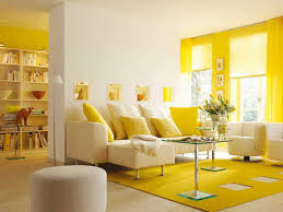 Yellow Walls Living Room Interior Decor Yellow Walls Beautiful Blend Of Yellow And Turquoise In The