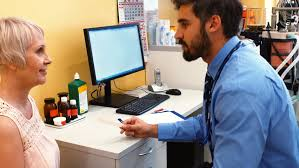 Image result for doctor patient and computer