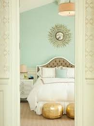 Models Bedroom Colors Mint Green With Brown And Gold Accents Inside Modern Design