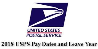 2018 Usps Pay Dates And Leave Year Postal Employee Network