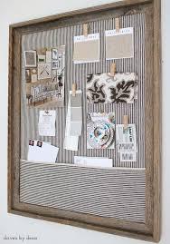 diy cork boards. Simple DIY Cork Bulletin Board (love The Fabric Pocket!) Diy Boards