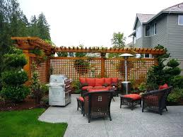 outside patio lighting ideas. Side Patio Ideas Stunning Landscaping For Privacy Cozy Yard . Outside Lighting