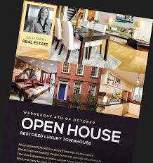 real estate flyer templates for photoshop  flyerheroes real estate flyer templates