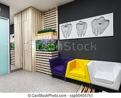 >dental office waiting room reception in dental clinic design in a  dental office waiting room csp50405751