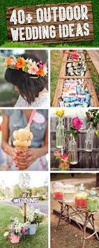 Cute For A Backyard Budget Wedding Reception  DIY Wedding Diy Backyard Wedding Decorations