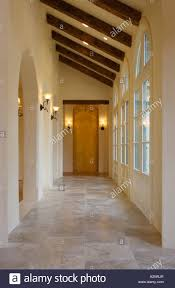 image hallway lighting. STONE FLOOR And Hallway With Interior Lighting Fixtures Multi Paned Windows CALIFORNIA LUXURY HOME Image D