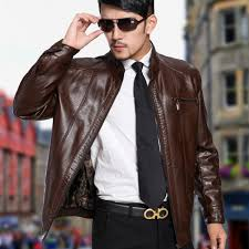 men leather jacket 2017 spring autumn mens leather jackets stand collar casual leather coat men plus m xl free men s jackets coats