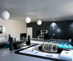 ultra modern bedroom furniture. Brilliant Bedroom Bright Ideas Ultra Modern Bedroom Ultramodern Masculine With Round Lighting  Fixture Above White And Blue Nuance Designs Simple For Inside Furniture R