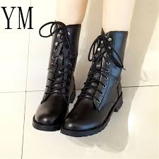<b>2019 New</b> Arrival <b>Combat</b> Military Boots Women's Motorcycle <b>Gothic</b> ...