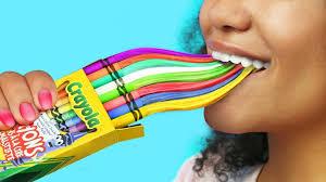 8 diy edible unicorn school supplies weird ways to sneak cans into class