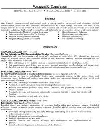Healthcare Resume Objective Memo Example