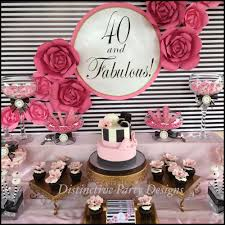 40th Birthday Decorations For Her Fashion Birthday Party Ideas Photo Booth Backdrop Make Paper