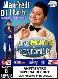 Manfredi Di Liberto sul palco a Campofelice - Cefaluweb.com News - Madonie  NotizieCefaluweb.com News – Madonie Notizie